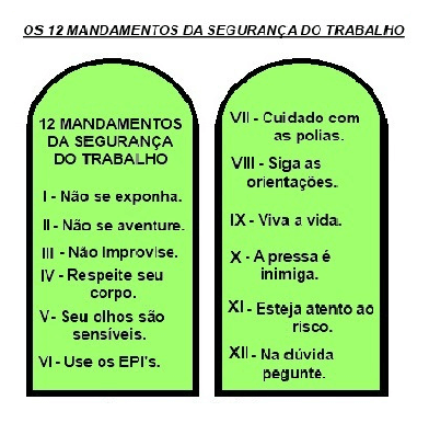 12 mandamentos