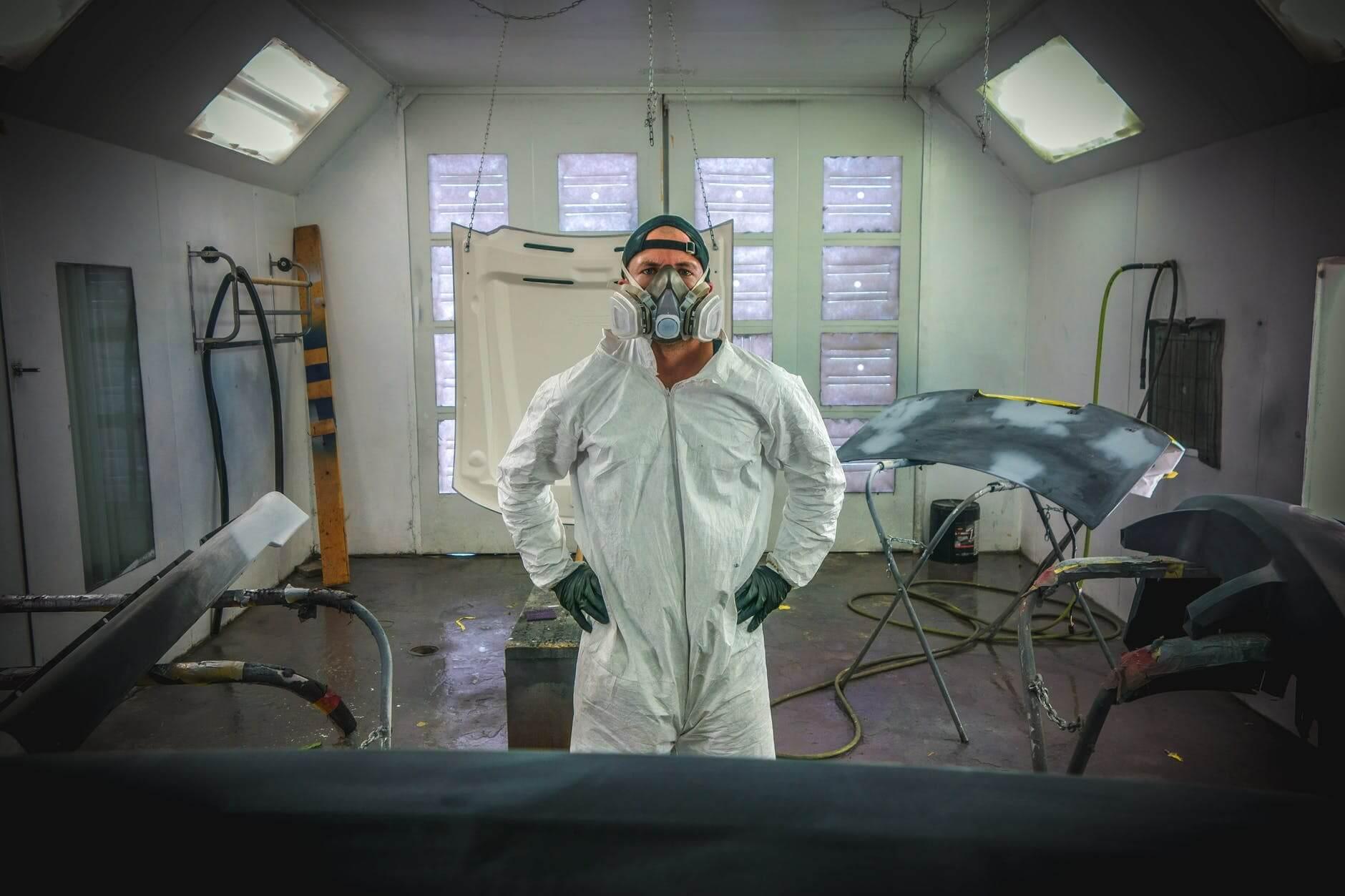 Proteção respiratória espaço confinado