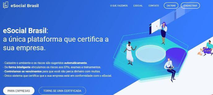 plataforma eSocial Brasil