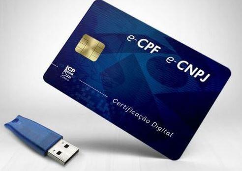 Certificado ou Procuração digital
