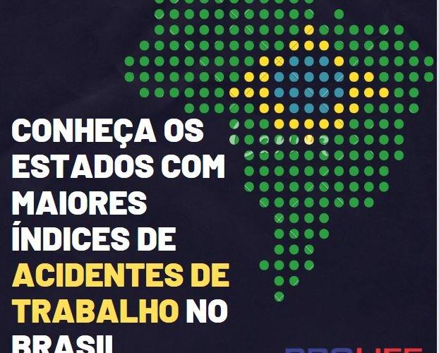 Conheça os estados com maiores índices de acidentes de trabalho no brasil